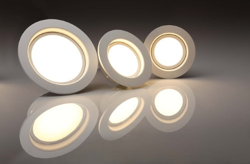 LED lights save electricity