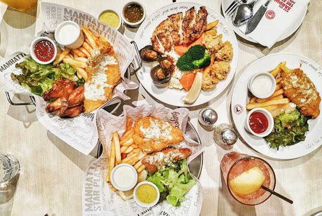 Daftar Menu dan Harga Manhattan Fish Market Indonesia 2017