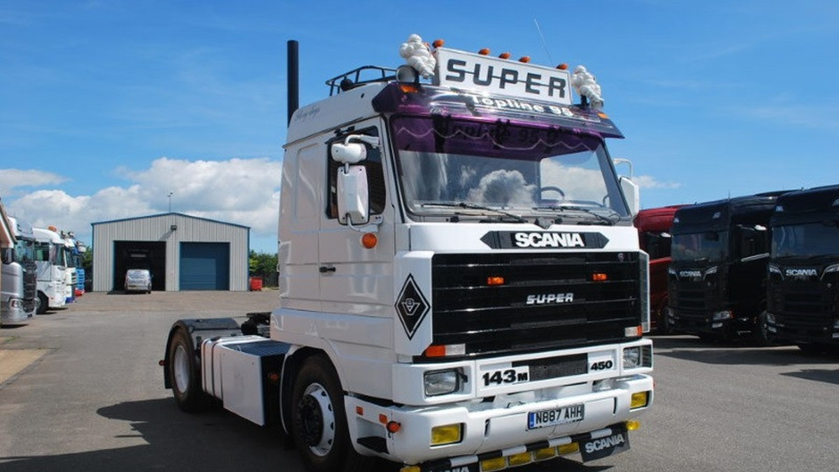 V8 Sound for Scania 3 v1.1