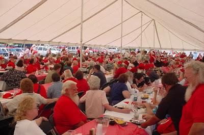 Santa Claus Convention in Branson Missouri