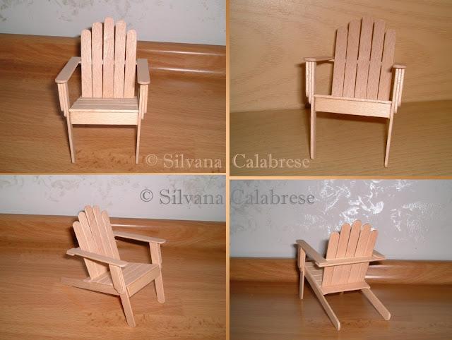 Stecchi gelato sedia da esterni Silvana Calabrese - Blog
