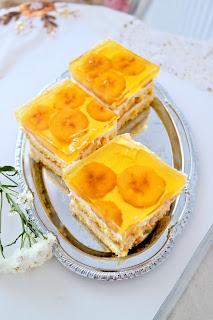 bananowe ciasto na imprezę