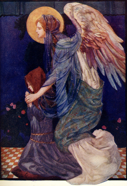 The Guardian Angel William Russell Flint