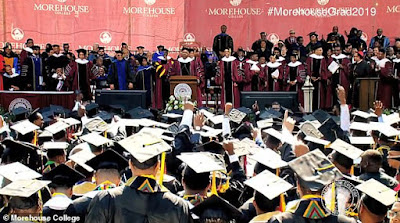 Graduating students left stunned as billionaire pledges to pay off ALL of their student loan debt during speech