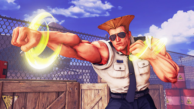 Guile Street Fighter V