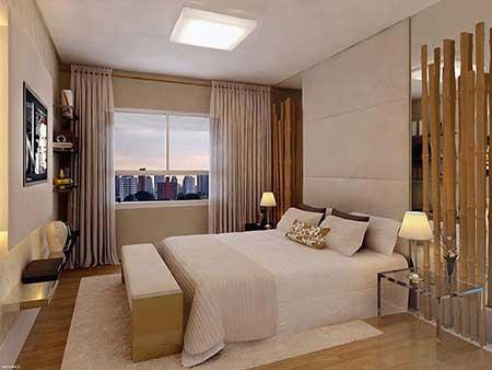 Blanco interiores integrar tv no quarto for Modelos de espejos para dormitorios