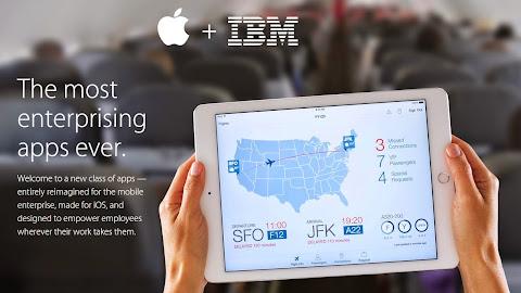 應用在 iOS 的 IBM MobileFist App
