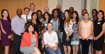 Photo of Rio Salado staff with new scholarship awardees