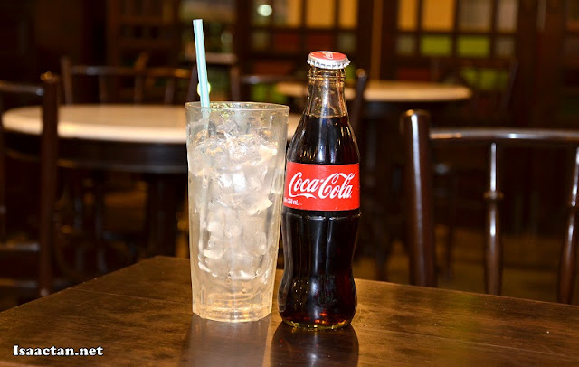 Old-school bottle of Coca Cola