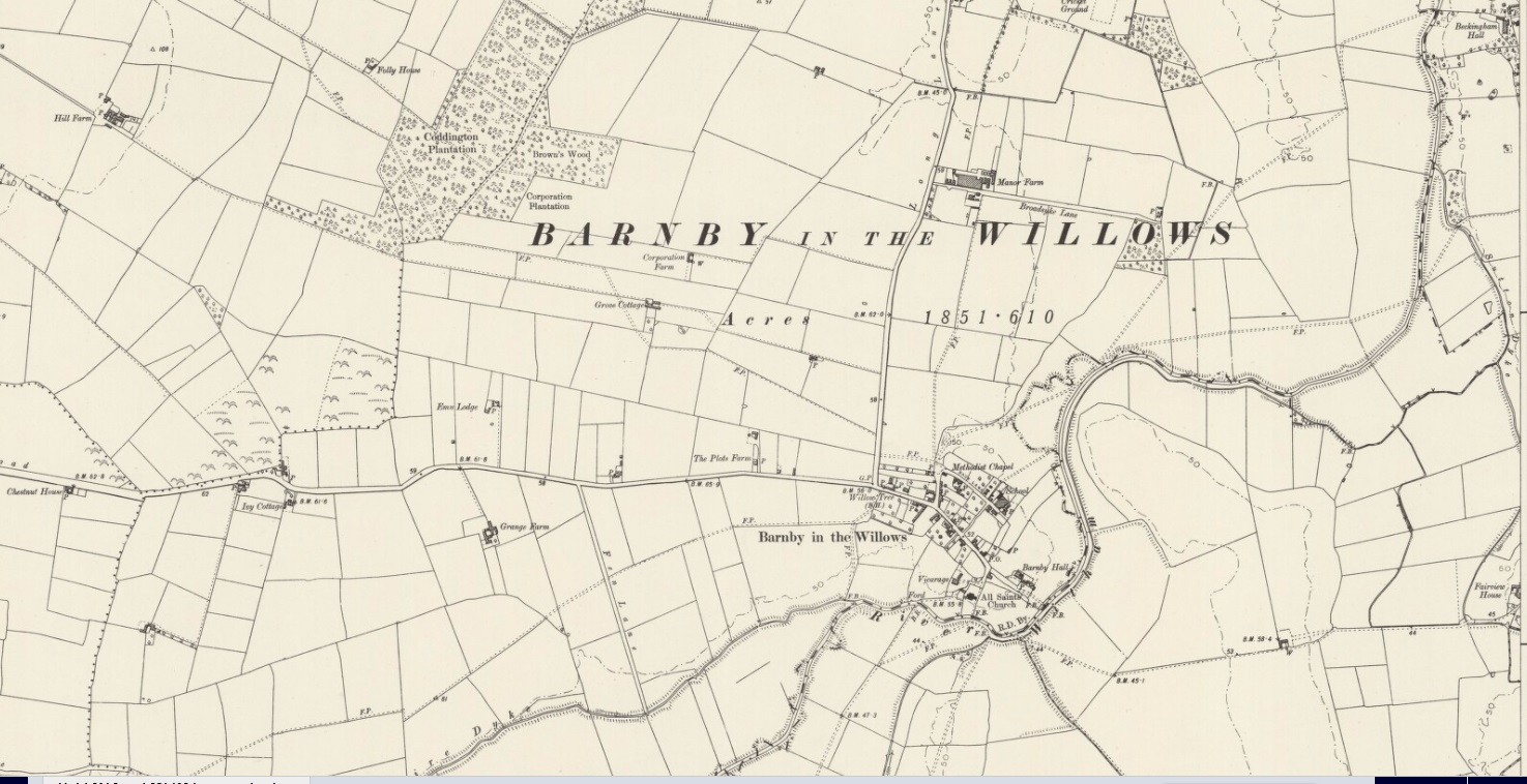 actually the census of 1861 gives the clue as to which barnby william his family moved to not barnby moor but barnby the willows