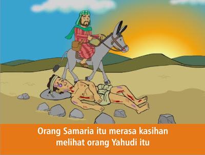 Komik Alkitab Anak: Orang Samaria yang Murah Hati