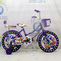 16 previa flower ctb sepeda anak