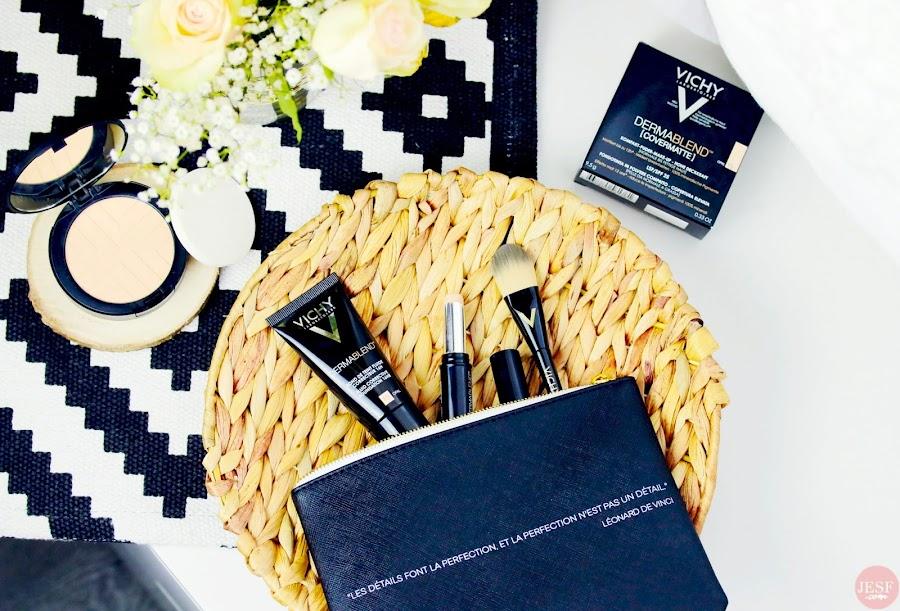 Dermablend de Vichy, la nouvelle gamme pour un teint corrigé et unifié ! avis julieetsesfutilites.com