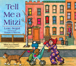 Bea's Book Nook, Review, Tell Me a Mitzi, Lore Segal, Harriet Pincus