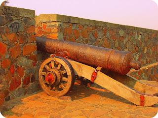 Canhão que Guarnecia o Forte de Colonia Del Sacramento