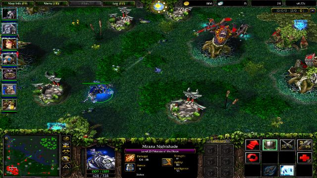 Download Dota 1 PC Games Gameplay