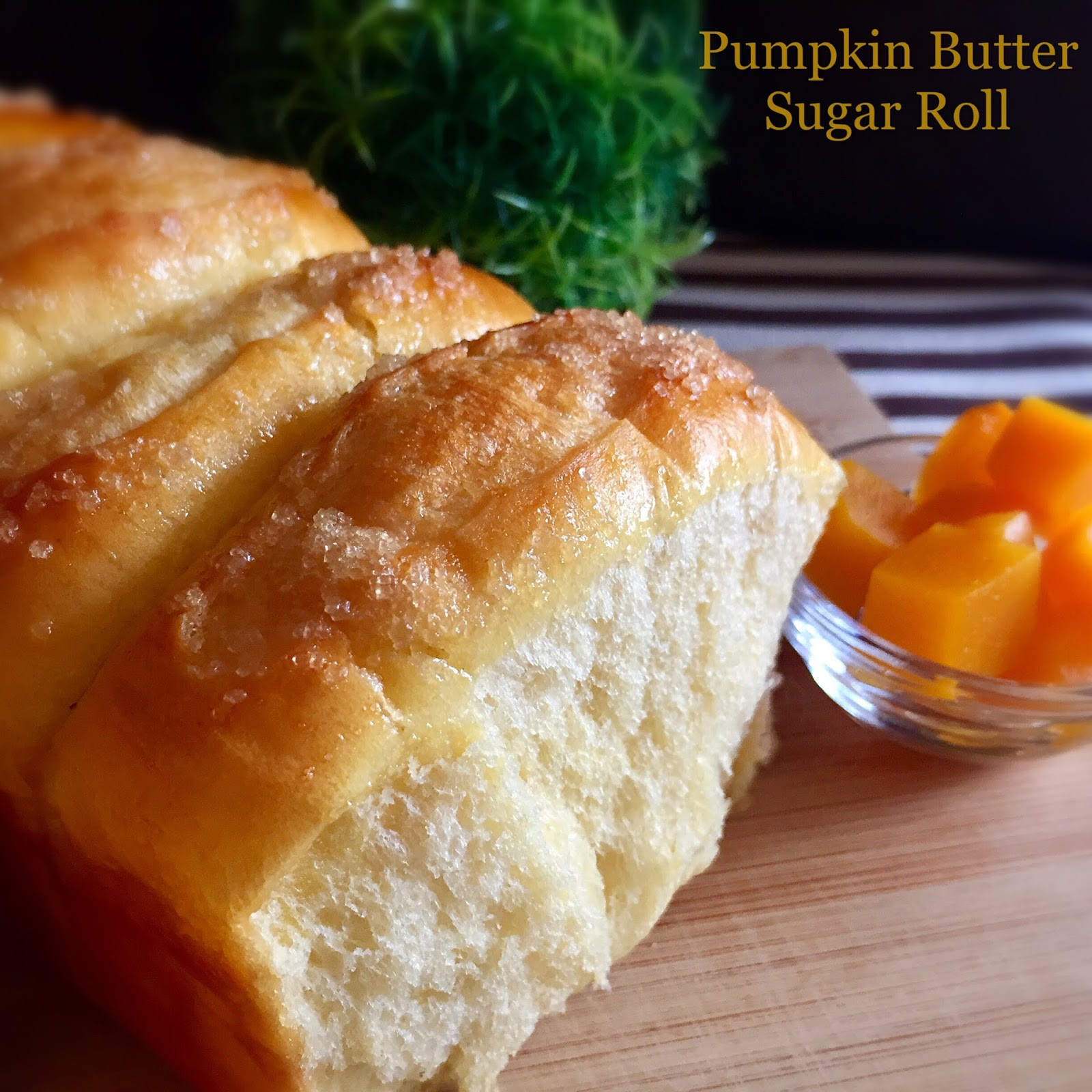 My Mind Patch: Pumpkin Butter Sugar Rolls