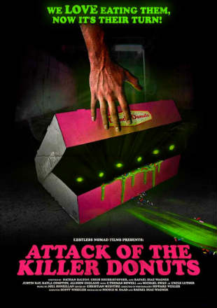 Attack of the Killer Donuts 2016 BRRip 720p Dual Audio In Hindi German