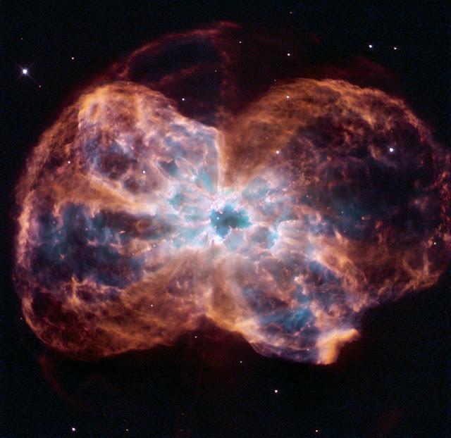 Telescópio Hubble flagra morte de estrela parecida com o Sol