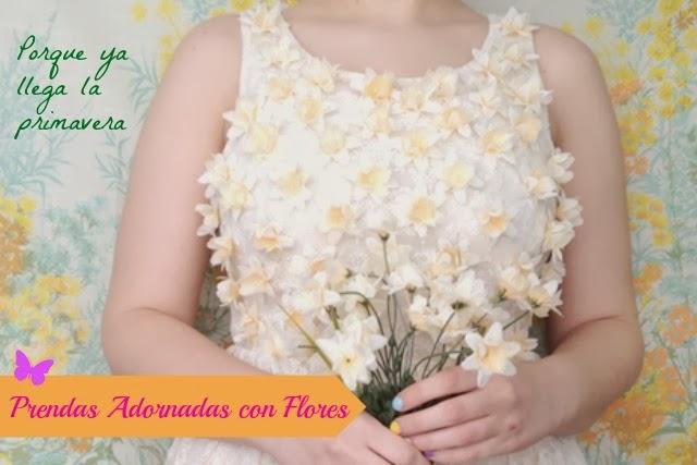 Como Adornar Prendas con Flores en 3D