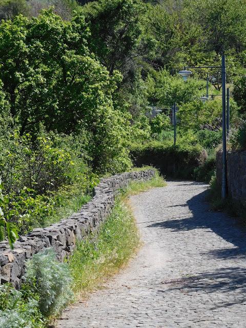 Sentiero a Rebeccu