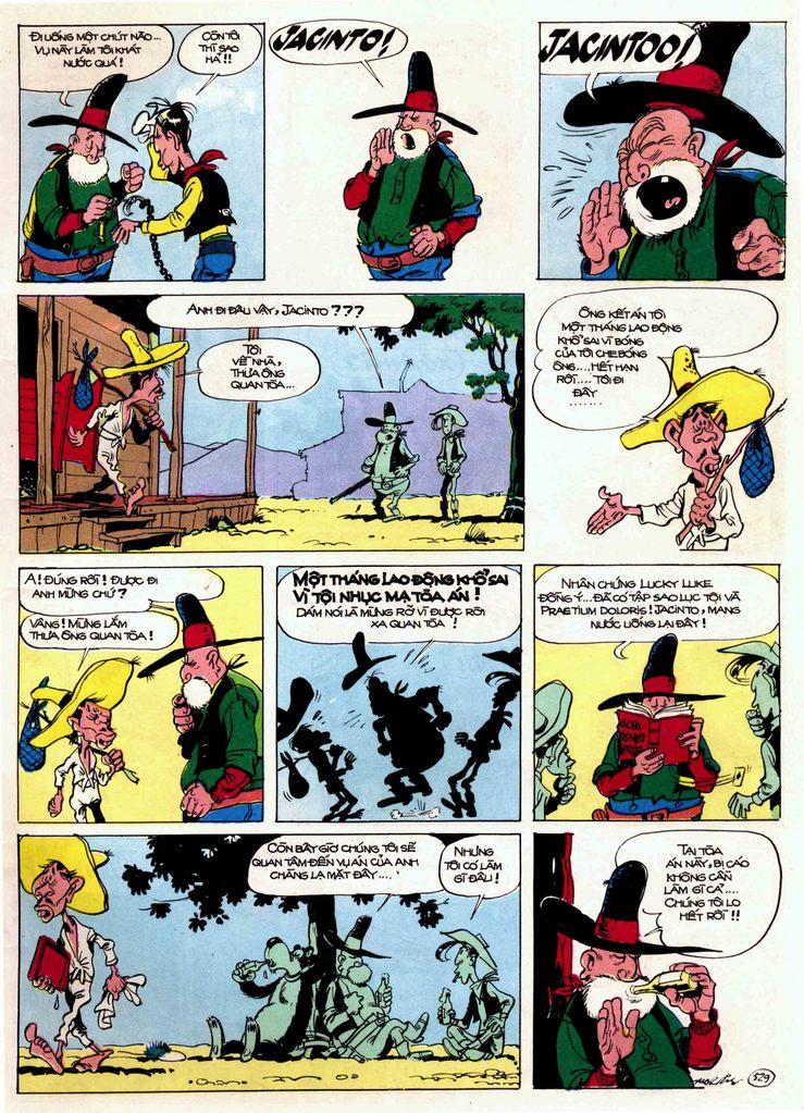 Lucky Luke tập 21 - sợi dây biết hát trang 9