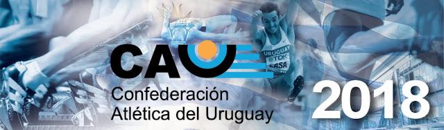 Calendario de carreras y competencias de la Confederación Atlética del Uruguay 2018 - CAU