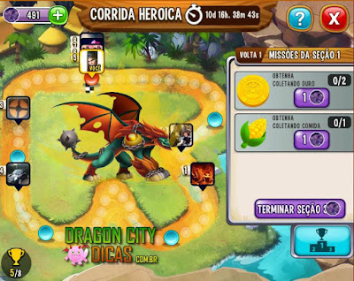 Corrida Heroica Parte 3 - Passos do Evento!