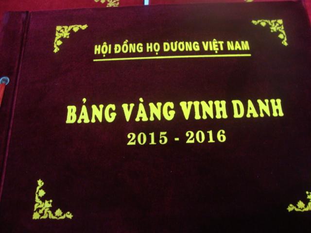 Họ  Dương Việt Nam vinh danh khuyến học,khuyến tài