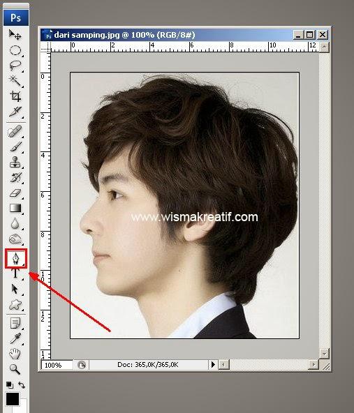 Cara Membuat Siluet Wajah Menggunakan Photoshop