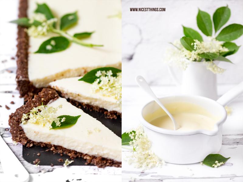 Holunderblüten Cheesecake Rezept