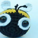 patron gratis abeja amigurumi | free amiguru pattern bee
