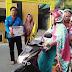 Peduli Korban Gempa di Lombok, PMII Pinrang Galang Dana Di Jalan