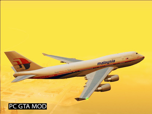 Free Download Boeing 747-400 PW4000 Big Fix Mod for GTA San Andreas.