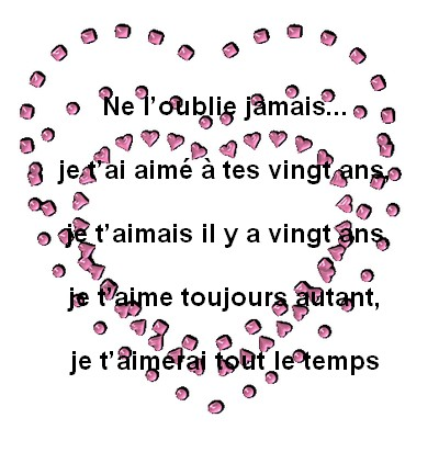 Texte Damour Messages Damour