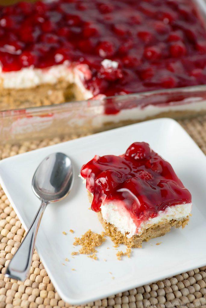 Cherry Delight #Cherry #Delight #Dessert #Cake #Sweets