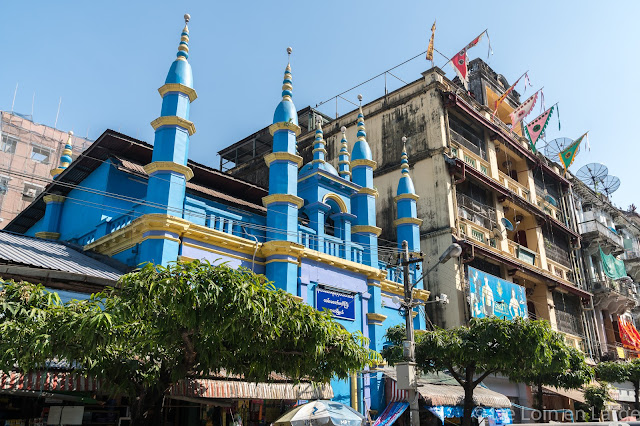 Quartier Downtown-Yangon-Myanmar-Birmanie