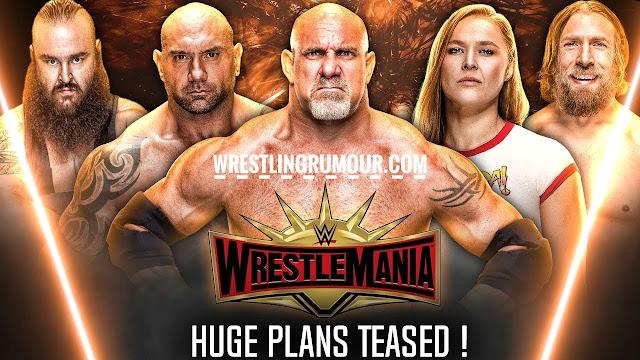 Wrestlemania 35 huge plans teased !!
