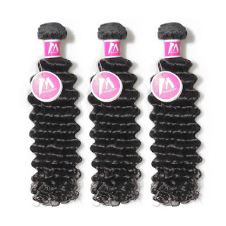 8A Premium Hair Weave Brazilian Hair Bundles Deep Wave–Price:$34.34 /piece (10%off)