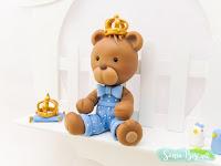 Quadrinho Quadro Urso Ursinho Biscuit