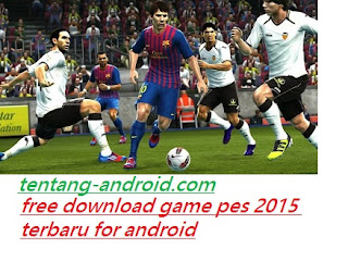 Game Pes 2015 Terbaru Apk Data