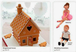 Step-by-Step Cake Decorating  gingerbread cottage and figures