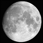 La Luna, el único satélite de nuestro planeta