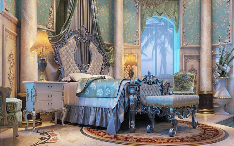 10 mẫu phòng ngủ phong cách Royal sang trọng và đẳng cấp nhất3