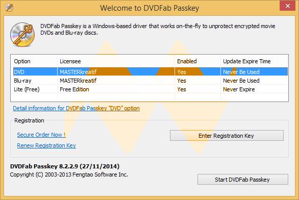 DVDFab Passkey 8.2.2.9