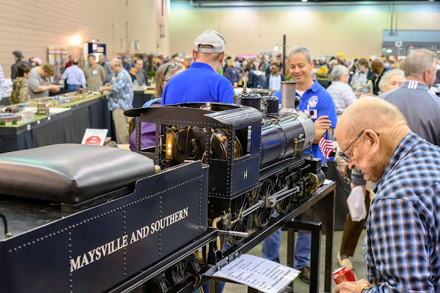 Live Steamers at the Atlanta Model Train Show