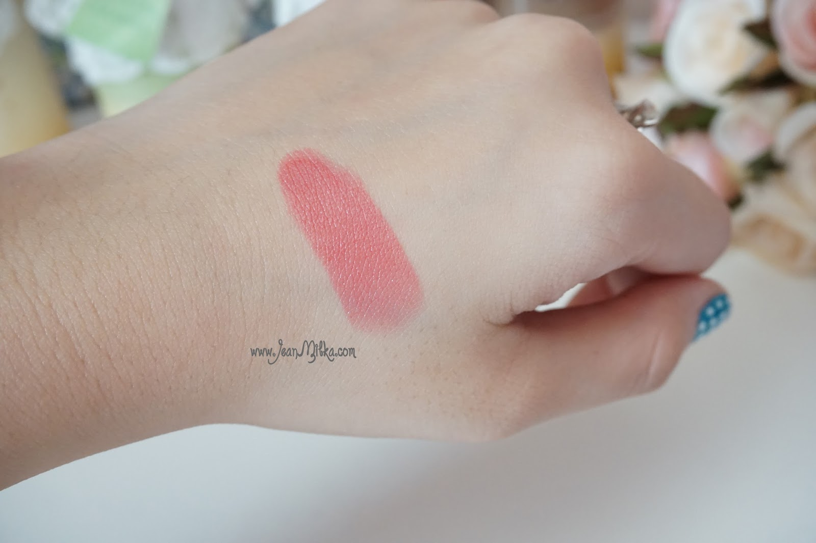 ysl volupte shine 13 pink in paris swatch