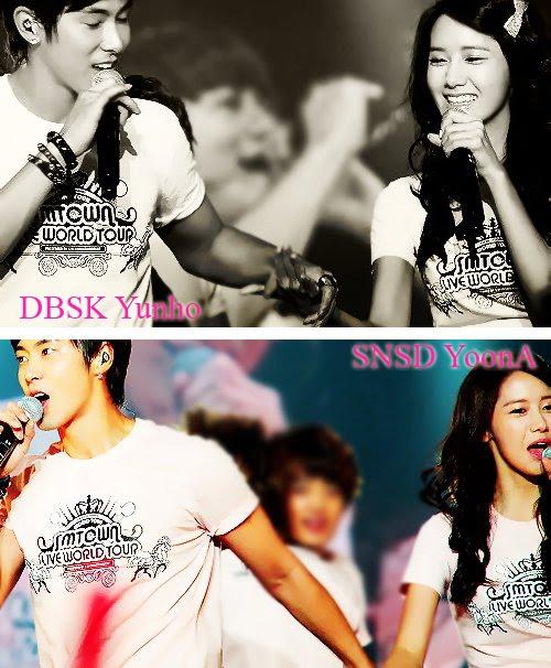 snsd yuri and yunho dating