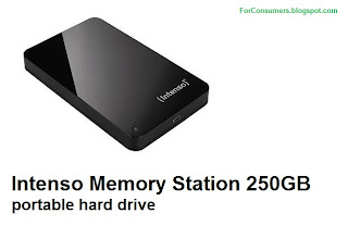 Intenso Memory Station 250GB portable hard drive