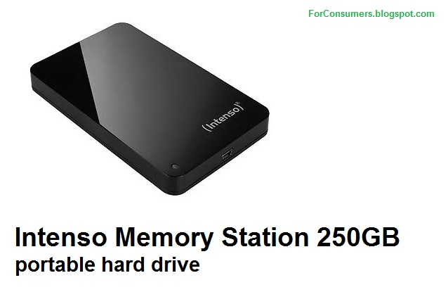 Intenso Memory Station 250GB portable hard drive